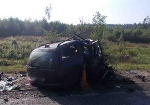 Семеро украинцев, пострадавших в ДТП в Беларуси, находятся в реанимации