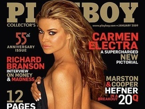 Кармен Электра разделась для Playboy