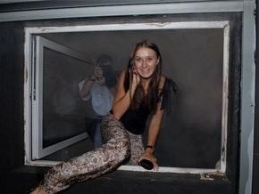 Фотогалерея: В Киеве сорвали подпольный показ Бруно