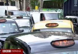 Таксисти в Лондоні протестують проти олімпійських смуг