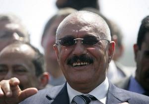 Президент Йемена отказался подписать соглашение о передаче власти в стране
