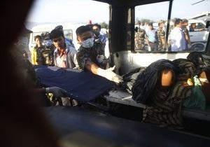 В Индии в результате аварии автобуса погибли не менее 40 человек
