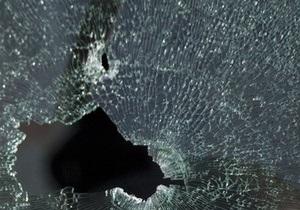 В Севастополе неизвестный разбил окно в горкоме Компартии