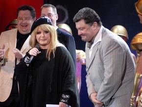 Алла Пугачева станцевала с Порошенко