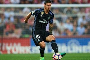 Хамес Родригес перешел из Реала в Баварию
