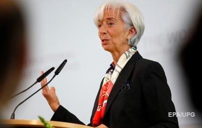 Лагард: Світ чекає початок нової фінансової кризи