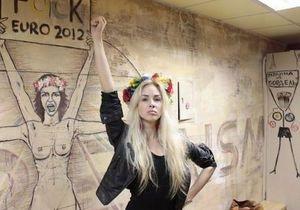 Активистку Femen Александру Шевченко депортировали из Туниса