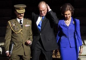 Король Испании урезал зарплату себе и своим родственникам
