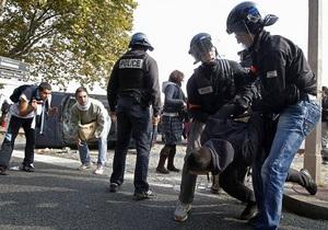 Во Франции задержали 150 человек, протестующих против пенсионной реформы