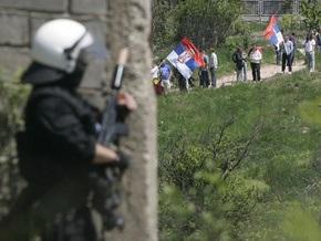 Столкновения в Косово: Пострадали десять полицейских