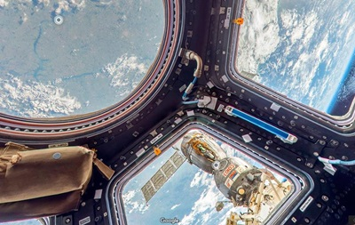 На Google Street View появились панорамы с МКС