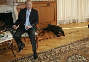 В Санкт-Петербурге хотят установить памятник собаке Путина