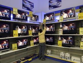 В прошлом году в Украине увеличилось производство телевизоров