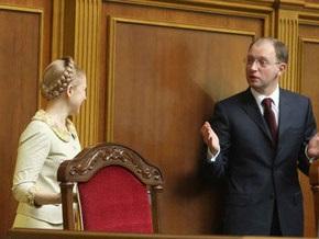 Опрос: Во второй тур выборов Янукович выйдет с Тимошенко или Яценюком