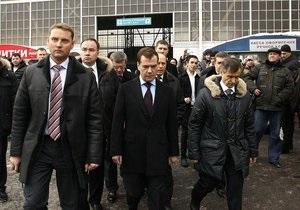 Медведев лично проинспектировал аэропорт Внуково