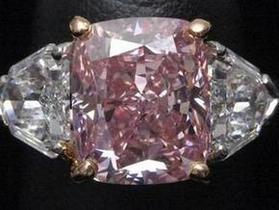 Christie s продал редкий розовый бриллиант за рекордную для Азии цену