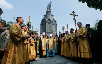 Уполіції розповіли, якпройшла Хресна хода уКиєві