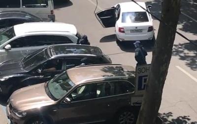 ВОдессе патрульная машина сбила женщину