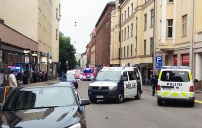 Автомобиль въехал в пешеходов в Хельсинки