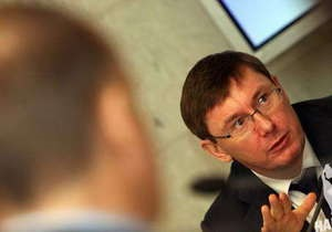 Луценко - Янукович помиловал Луценко - УДАР - Депутат от УДАРа предложил выдвинуть Луценко в мэры Киева