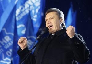 Региональный экзит-полл: В Донецкой области Янукович набрал 77,2%