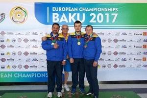 Украинские стрелки добыли 11 медалей на чемпионате Европы