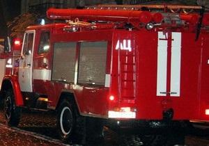 В Полтавской области горит здание школы