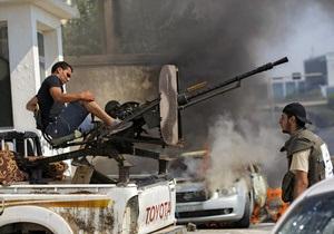 НПС: Повстанцы вошли в родной город Каддафи
