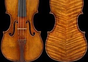 Самая дорогая в мире скрипка выставлена на аукцион