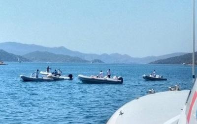 ВТурции потерпела крушение яхта стуристами, три человека пропали
