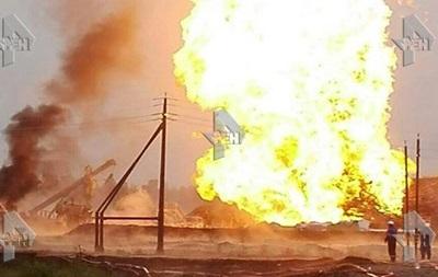 У Росії велика пожежа на нафтовій свердловині