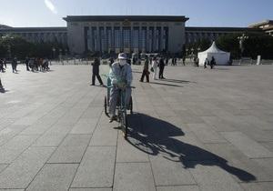 СМИ: На площади Тяньаньмэнь совершен акт самосожжения