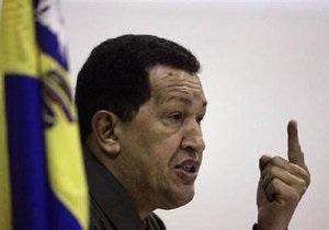 В понедельник Украину посетит Уго Чавес