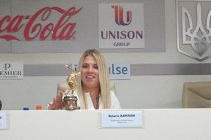 Харлан получила эксклюзивную награду