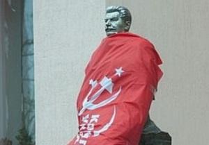 В Запорожье задержали подозреваемых в обезглавливании памятника Сталину