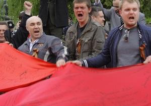 Турчинов: Закон о красных флагах может вступить в силу