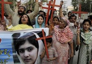 Стрелявших в 14-летнюю правозащитницу талибов арестовали в Пакистане