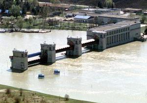 Снижение притока воды в Днепре и Днестре привело к резкому падению выработки электроэнергии на ГЭС