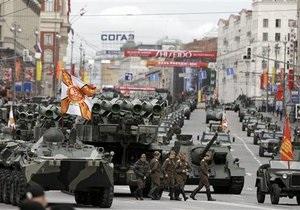 В центре Москвы на репетиции Парада Победы сломался один из Искандеров