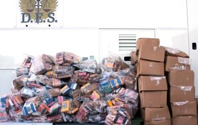 В Канаде конфисковали рекордную партию кокаина