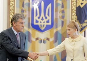 Тимошенко: Для меня Ющенко как политик прекратил существовать с 2004 года