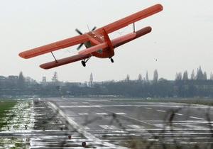 Самолет - В России самолет, совершивший экстренную посадку, полностью сгорел