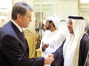 Ющенко согласился передать в аренду Эмиратам до 100 гектаров украинской земли