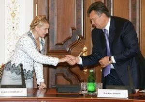 Янукович не поздравил Тимошенко с юбилеем