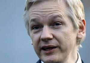 Ассанж оспорил решение об экстрадиции в Швецию