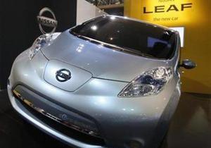Nissan назвал дату начала продаж электромобиля Nissan Leaf