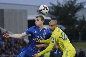 Украина проиграла Исландии, ухудшив шансы попасть на ЧМ