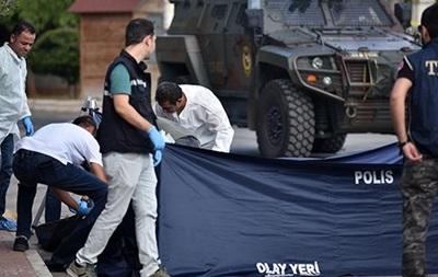 В Турции убили смертника, пытавшегося взорвать полицейских
