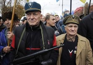 Семиноженко: Власть не будет запрещать марши ветеранов УПА