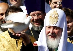 Патриарх Кирилл призвал Европу не вмешиваться в проблемы арабского мира